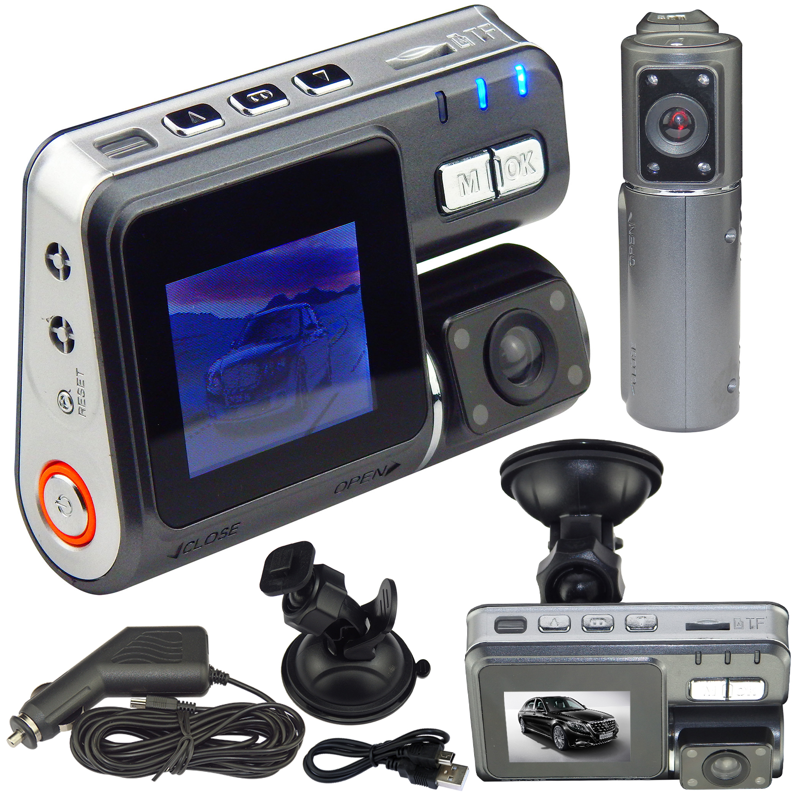 720P CAR Video Camera Recorder