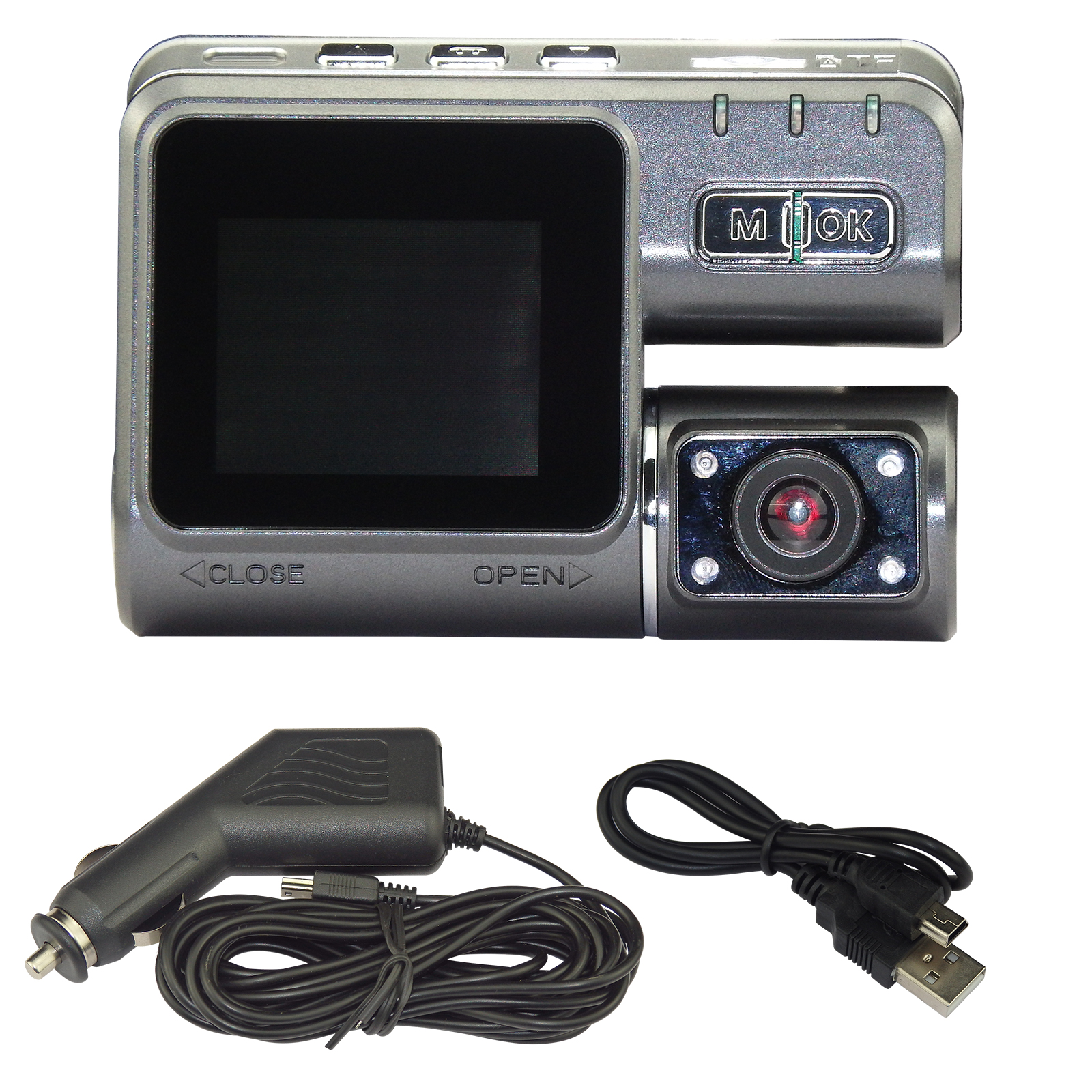 720P CAR Vehicle DVR Video Camera Recorder Dash Cam 120?? With Car Charger