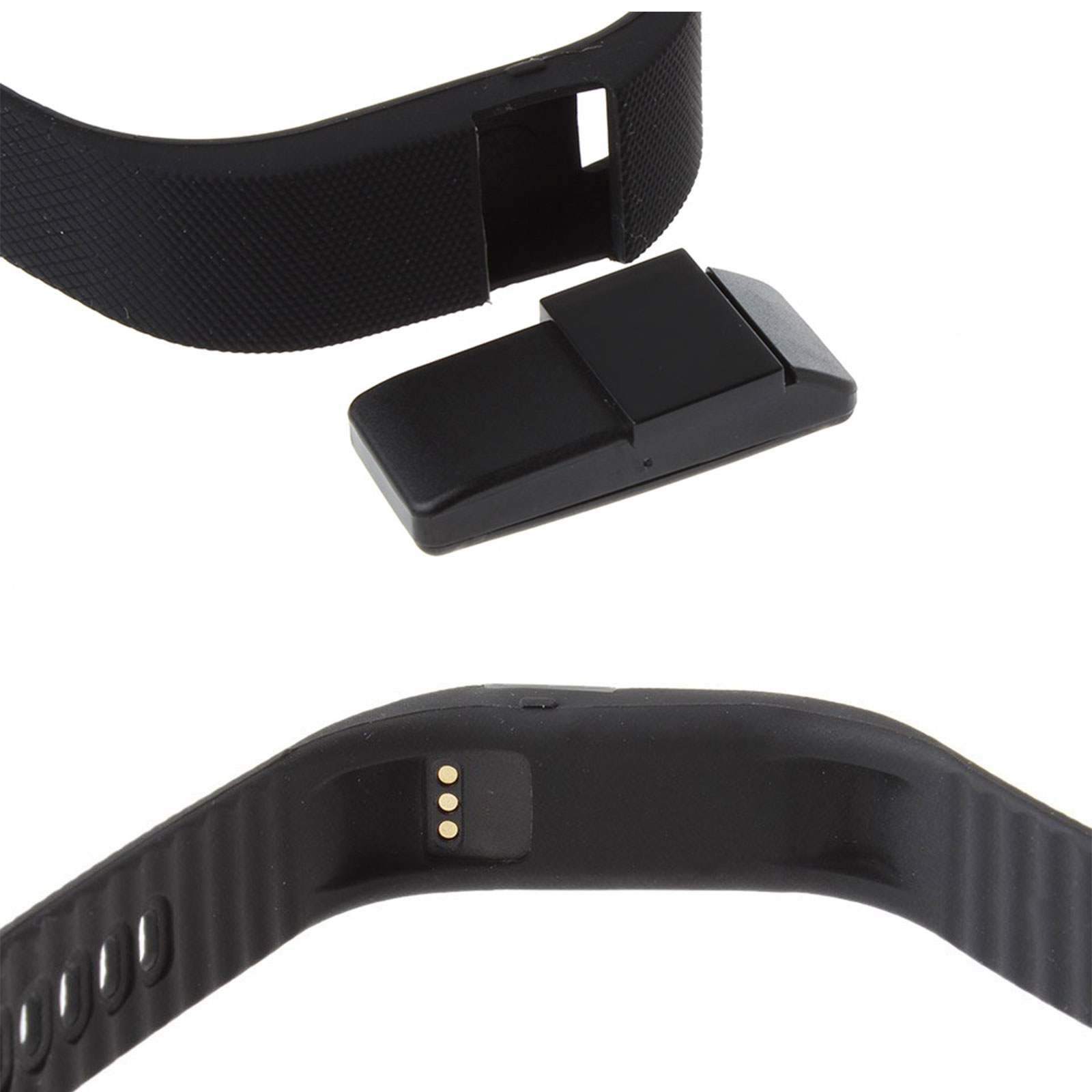 Smart Watch Bracelet 4.0 Wrist Band port Health Activity Tracker 24 UK (Black Colour)