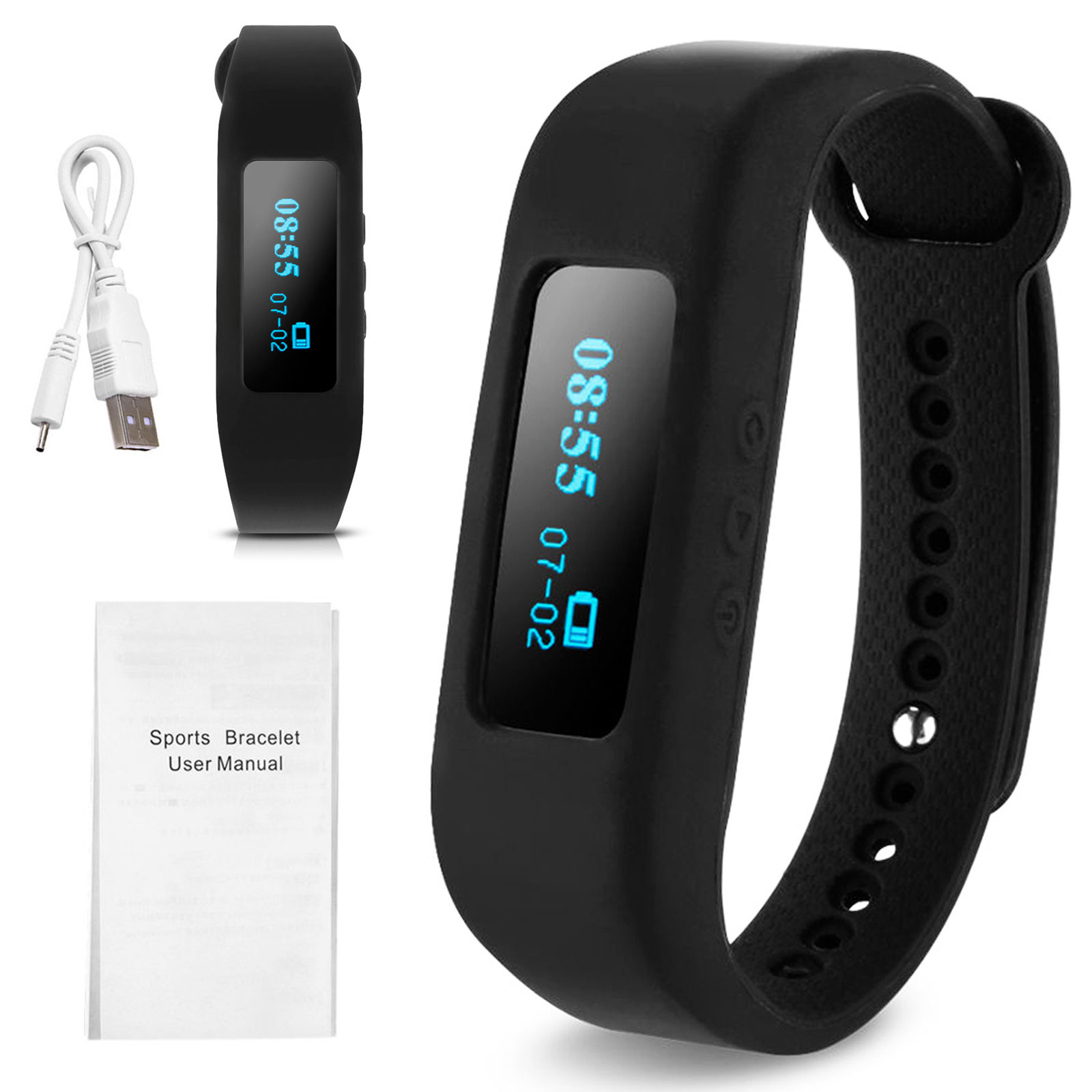 Smart Oled Fitness Tracker Wristband