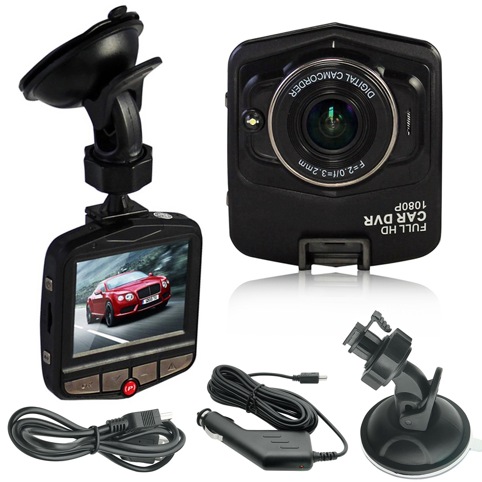 1080P Car Camera Night Vision G-Sensor