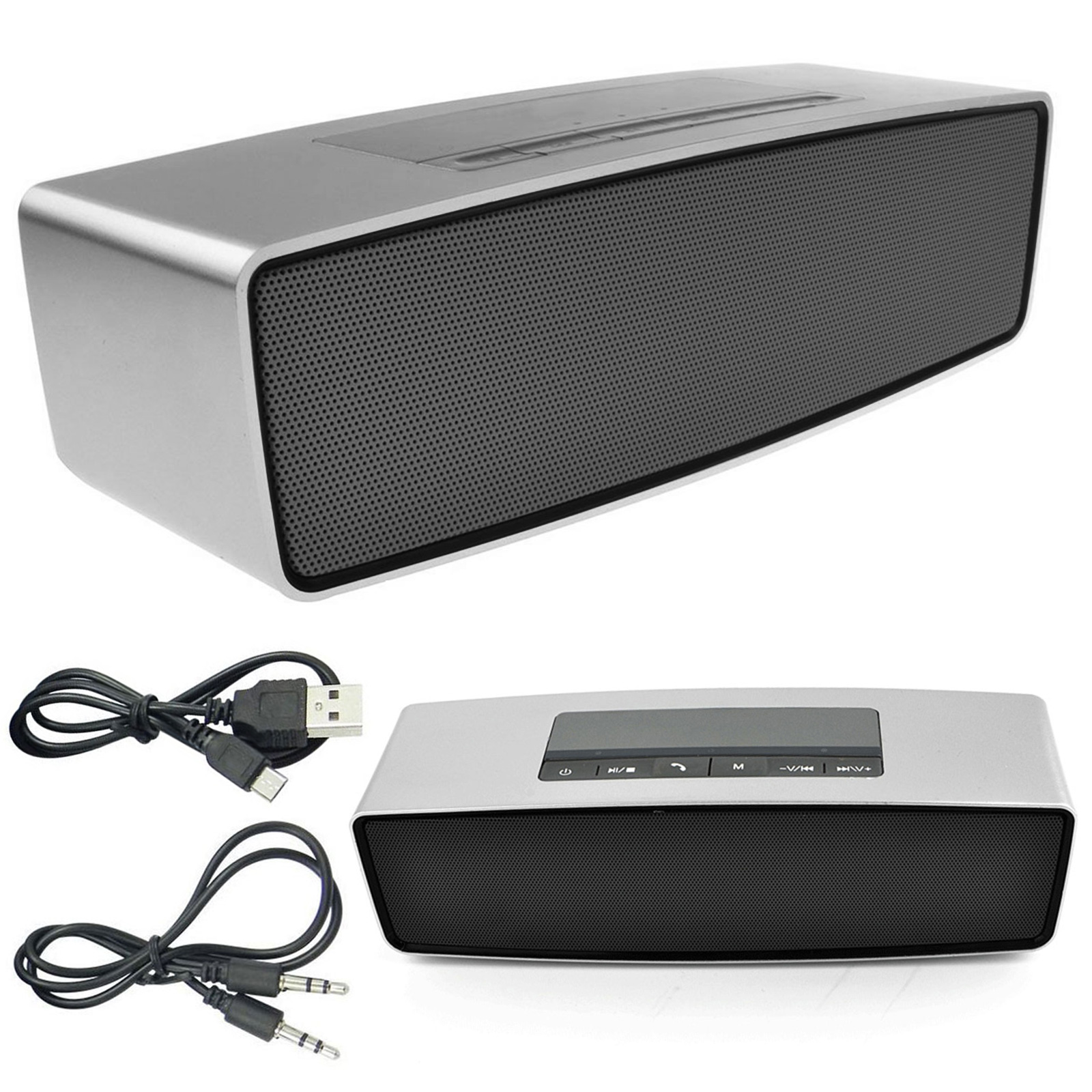 Latest Wireless Portable Rechargable Bluetooth Speaker For iPhone iPod Samsung